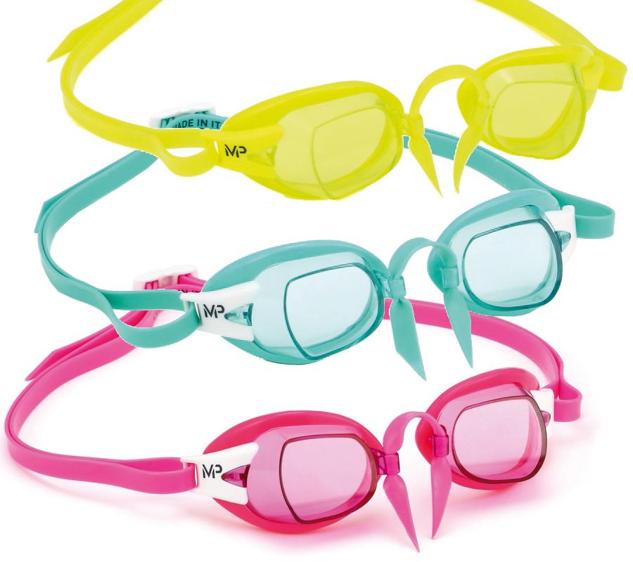 Очки для плавания Chronos (розовые линзы)