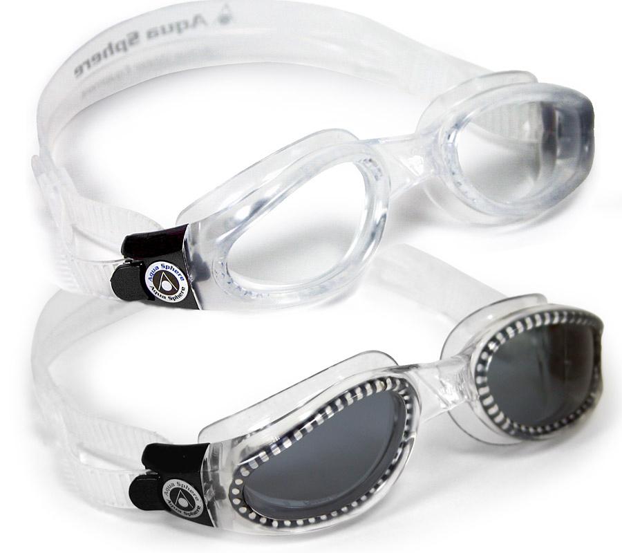 Очки для плавания KAIMAN (прозр.линзы) TRANSP.