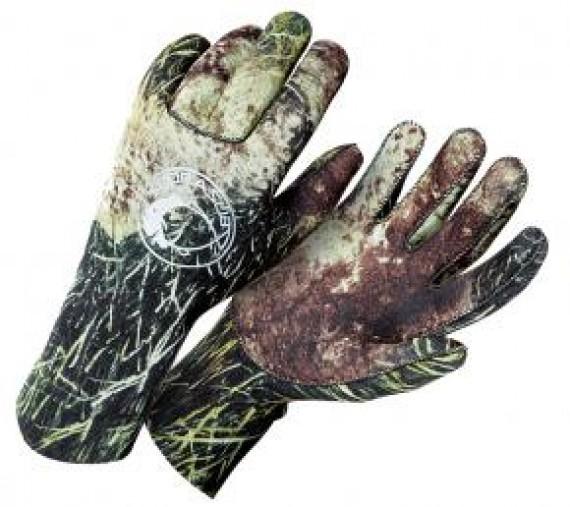 Перчатки Sea Green Camu 3D 2 мм