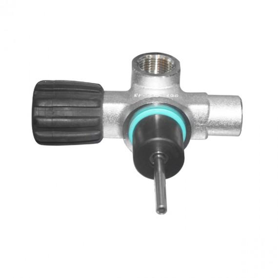 """Вентиль NPSM 3/4"""" 230bar левый 1 выход DIN O2 очищенный, модульный, без заглушки BTS"""