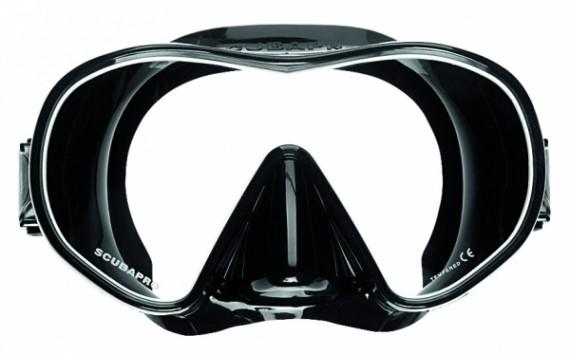 Маска SOLO черный силикон