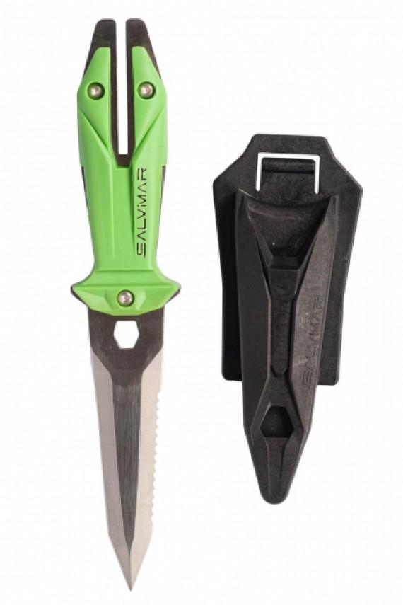 Нож GOEMON зеленый