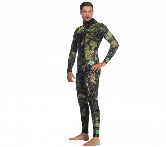 Гидрокостюм Sea Green 3D Camo, короткие штаны
